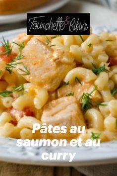 Découvrez notre recette de pâtes au saumon et au curry ! Cooking, Al Dente, Baked Salmon, Pasta With Salmon, Healthy Recipes, Cooking Recipes, Curry Paste, Healthy Nutrition, Kitchen