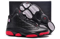 f5157ac32db4c7 Air Jordan 13 Retro Infrared 23 Black Red Jordan Sneakers