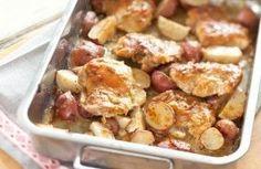 Poulet & pommes de terre à la moutarde au Cookeo
