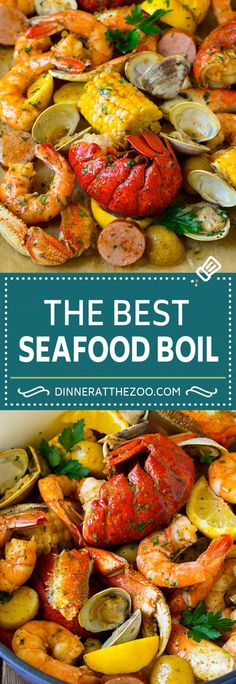 Seafood Boil Recipe - Dinner at the Zoo - Seafood Recipes Cajun Seafood Boil, Seafood Broil, Seafood Boil Recipes, Seafood Dinner, Cajun Recipes, Cooking Recipes, Healthy Recipes, Shrimp Recipes, Boil In A Bag Recipes