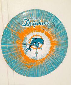 Miami Dolphins clock