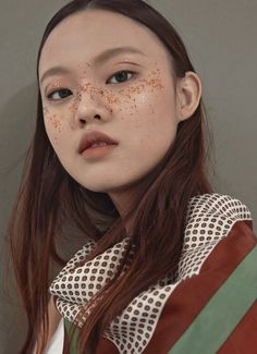 "voulair: "" Vita Kan photographed by Gong Sang Ung "" Makeup Inspo, Makeup Art, Makeup Inspiration, Beauty Makeup, Hair Makeup, Makeup Quiz, Makeup Drawing, Queen Makeup, Character Inspiration"