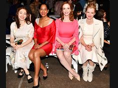 Star Tracks: Friday, February 13, 2015 | FRONT & CENTER  | Also at Fashion Week in New York City, Tracee Ellis Ross, Christina Hendricks, Gretchen Mol and Regina Spektor sit front row at the Honor show on Thursday.