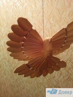 Птица счастья из дерева