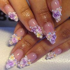 .@glamsusie | #nails #nailart #naildesign #nailartdesign #nailartjunkie #nailartaddicts #3d... | Webstagram - the best Instagram viewer