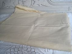 A Bolt Of Vintage French Unused Metis Linen by VintageFrenchFinds, $45.00