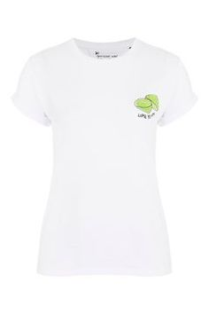 PETITE Lime Yours Tee