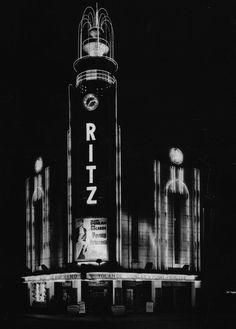 Puttin' on the Ritz Liverpool Town, New Brighton, Art Deco Buildings, Art Deco Era, Art Deco Design, Old Photos, Big Ben, Facade, Art Nouveau