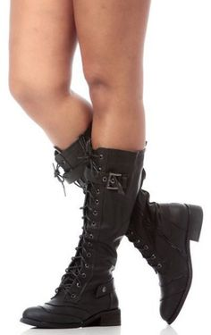 Women Boots-Riding Boots,Lace Up Boots,Combat Boots,Black Combat Boots,Studded… Studded Combat Boots, Black Combat Boots, Biker Boots, Cowgirl Boots, Gladiator Boots, Riding Boots, Motorcycle Boots, Skirts With Boots, Dress With Boots