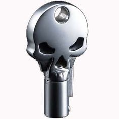 This is an uncut #skull #key blank in chrome with black enamel inlay for your #Harley-Davidson #motorcycle http://www.cruisingdaytona.com/Merchant2/merchant.mvc?Screen=PROD&Product_Code=TKS-1004-137A&Category_Code=KEYSKULL&Product_Count=5