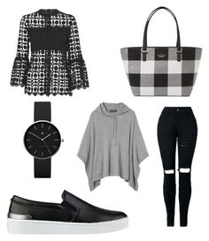 """""""Sin título #222"""" by prisdestyles on Polyvore featuring moda, GUESS, Kate Spade y Newgate"""