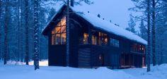 Exclusive Levi Spirit Villa in Lapland, close to the biggest ski resort Levi in Lapland Hotel Chalet, Norway House, Jacuzzi Outdoor, Luxury Cabin, Winter Cabin, Holiday Resort, Varanasi, Log Homes, Architecture Design