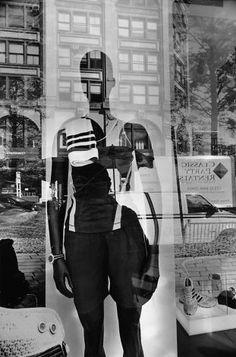New York City, gelatin-silver print Mannequin lee friedlander A Level Photography, Reflection Photography, Street Photography, Portrait Photography, Reflection Art, Exposure Photography, Creative Photography, Lee Friedlander, Eugene Atget
