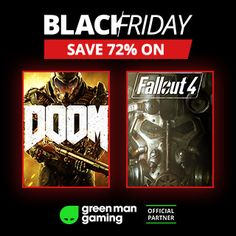Check out the Black Friday deals on Green Man Gaming!