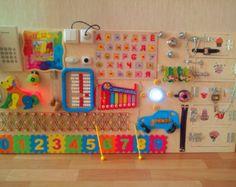 Drukke Board 35 elementen activiteit Board zintuiglijke