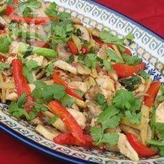 Poulet thaï au gingembre