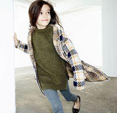 Детская коллекция Zara ноябрь. Мягкое пальто без подкладки - то, от чего не отказалась бы я сама.