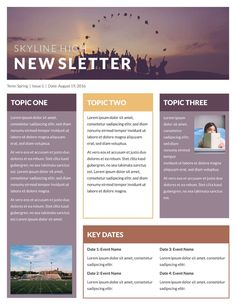Free Newsletter Templates & Examples - Email Template - Ideas of Email Template - classroom newsletter example Newsletter Example, Newsletter Design Templates, Template Flyer, Monthly Newsletter Template, Newsletter Layout, Newsletter Ideas, Templates Free, Business Templates, Company Newsletter