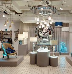 Lee Broom shop in Bluebird (London)