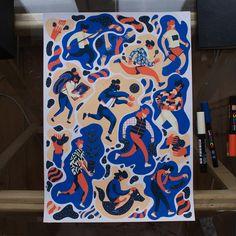 Sketchbook on Behance Molotow Marker, Posca Marker, Marker Art, Posca Art, Arte Sketchbook, Sketchbook Inspiration, Pen Art, Graphic Design Posters, Art Design
