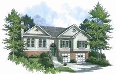 This 2 story Cottage features 1572 sq feet. Call us at 866-214-2242 to talk to a House Plan Specialist about your future dream home!