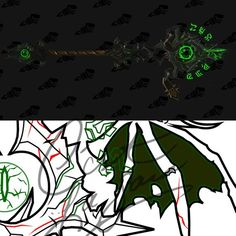 Warlock art warlock wow world of warcraft by screwy soul cosplay pdf vector pattern blueprint warlock staff hubris of the dark titan world malvernweather Gallery