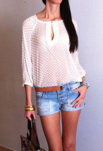 Moda en blusas transparentes de colores 3                                                                                                                                                                                 Más
