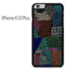 Avenged Sevenfold Lyrics Quotes Iphone 6 Plus Iphone 6S Plus Case