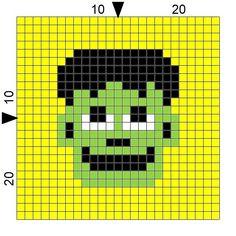 SPRE: Patterns & Design: Crochet Frankenstein Block