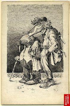 mervyn peake illustration of Alice in Wonderland