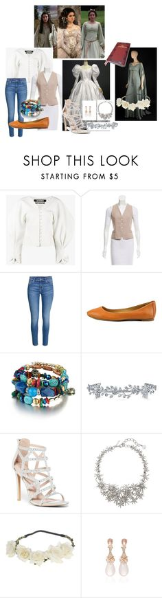 """Sarah Williams- The Labyrinth"" by paytonjenkins ❤ liked on Polyvore featuring Jacquemus, Robert Rodriguez, Alfani, Bling Jewelry, Top Moda, Oscar de la Renta and Hueb"
