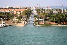 Cruising into Venice Italy on the NCL Spirit
