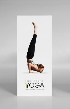 Equilibre Yoga on Behance