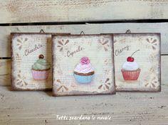 Tutti guardano le nuvole - Painted Cupcakes
