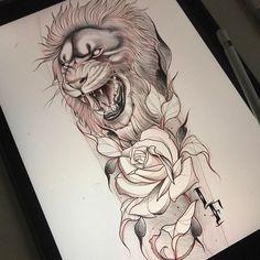 21 Ideas tattoo traditional lion style for 2019 Graffiti Tattoo, Graffiti Art, Tattoo Sleeve Designs, Flower Tattoo Designs, Sleeve Tattoos, Tattoo Sketches, Tattoo Drawings, Art Tattoos, Trendy Tattoos