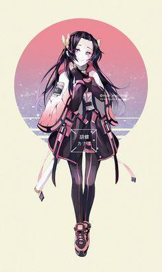 Anime Girl Cute, Kawaii Anime Girl, Anime Art Girl, Anime Guys, Manga Art, Anime Chibi, Fanarts Anime, Anime Characters, Anime Angel
