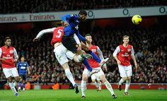 Valencia's thunderous header Vs Arsenal