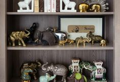 The amazing elephant collection in our co-founders LA office.