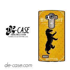 Hogwarts Hufflepuff For LG G4 Case Phone Case Gift Present YO
