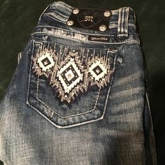 Miss Me Jeans In excellent condition. They no longer fit me I hardly wore them. Miss Me Jeans Boot Cut