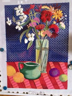 Stitch Guide for foliage by Janet Gebow