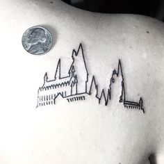Small #hogwarts outline for you #potter fans thanks for looking ✌️
