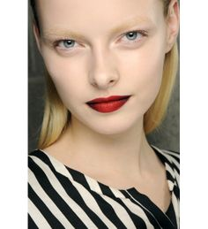 Darker Red on the sides, Crimson Red in the middle of the pout [Kenneth Cole FW 2013]