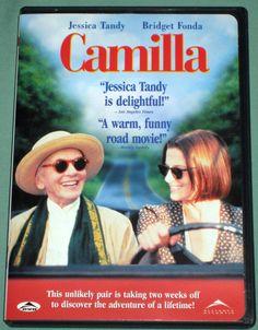 Camilla DVD 1994 comedy movie (Eng 2000 WS) OOP Jessica Tandy, Bridget Fonda   eBay