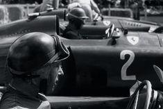 John Surtees on the Grid