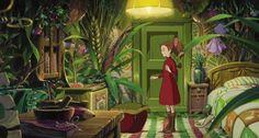 arrietty.gif 500×267 pixels  Lånaren Arrietty, interiör.