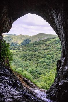 The stunning view from Thor's Cave in the Peak District, close to Beechenhill Farm  Www.beechenhill.co.uk