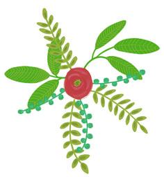 Illustration *Ilva* C Blumenmuster loretta cosima Plant Leaves, Illustration, Plants, Floral Patterns, Nice Asses, Illustrations, Plant, Planets
