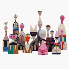 """Mid2Mod: Something else to obsess about.  Alexander Girard Dolls. """"Alexander Girard was one of the decisive figures in post-War American design..."""""""