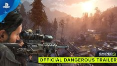 [Video] Sniper Ghost Warrior 3 - Official Dangerous Trailer | PS4 #Playstation4 #PS4 #Sony #videogames #playstation #gamer #games #gaming